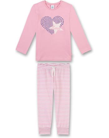 Sanetta Mädchen Pyjama/Schlafanzug lang scampi 232234-3950