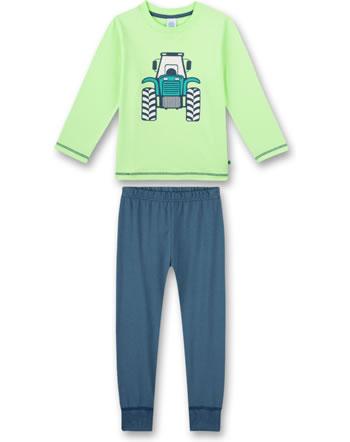 Sanetta Boys Pyjama long lime 232579-40011
