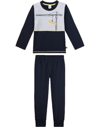 Sanetta Boys Pyjama long sleeve blue/navy 232434-50151