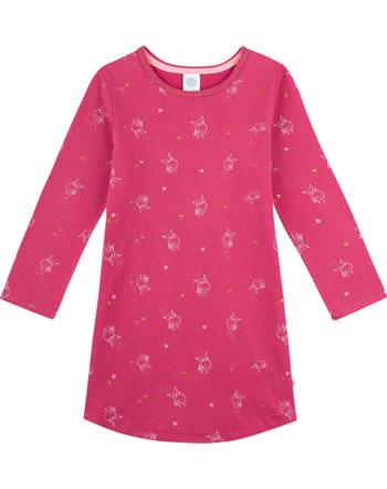 Sanetta Girls Nightdress OWLS kirsche 232509-3376