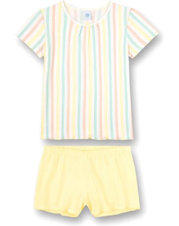 Sanetta Pyjama à manches courtes Japanese Summer lemon 245029-2094