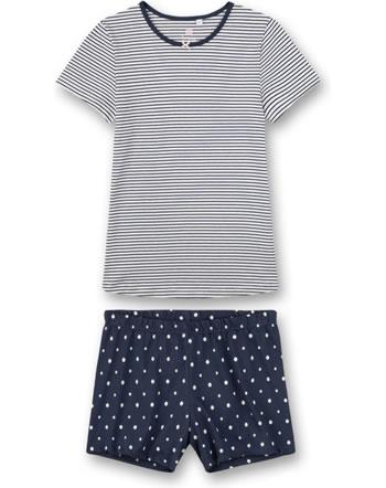 Sanetta Girls Pyjama short nordic blue 244931-5962