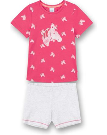 Sanetta Pyjama à manches courtes coral pink 232615-38127
