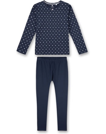 Sanetta Girls Pyjama long nordic blue 244929-5962