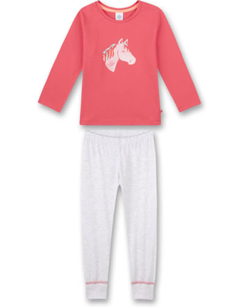 Sanetta Girls Pyjama long coral pink 232618-38127