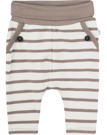 Sanetta Pure Baby pants with waistband pale brown 10247-18032 GOTS