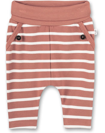 Sanetta Pure Trouser STRIPES terra 10247-38119 GOTS
