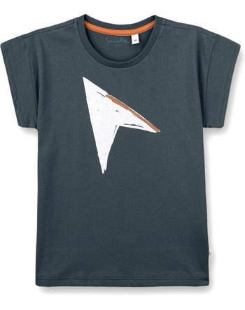 Sanetta Pure T-Shirt boys short sleeve ombre blue 10262-50277 GOTS