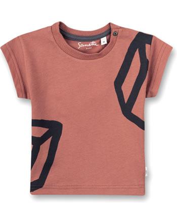 Sanetta Pure Jungen T-Shirt Kurzarm terra 10289-38119 GOTS