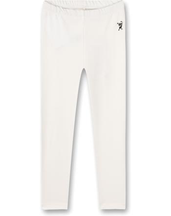Sanetta Pure Girls 7/8 Leggings Monster white whisper 10345-18010 GOTS
