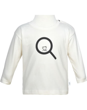 Sanetta Pure Shirt Langarm ITS ME white whisper 10136-18010 GOTS