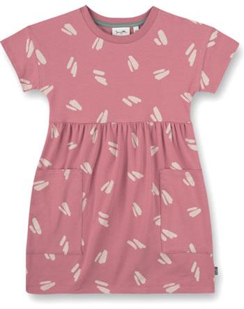 Sanetta Pure Sommer-Kleid Kurzarm bloomy rose 10347-38133 GOTS