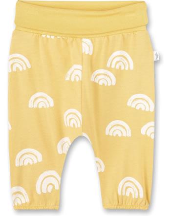 Sanetta Pure Summer pants with waistband ochre 10258-22036 GOTS