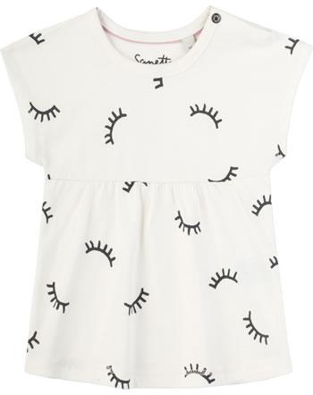 Sanetta Pure T-Shirt Kurzarm AUGE white whisper 10004-18010 GOTS