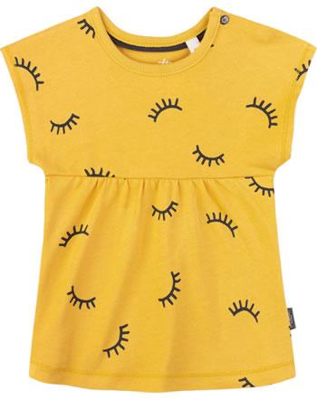 Sanetta Pure T-Shirt Kurzarm AUGE yellow 10004-2475 GOTS