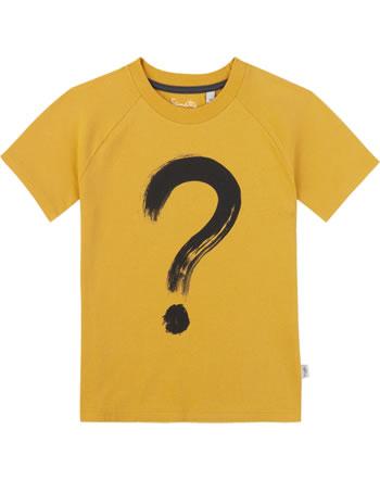 Sanetta Pure T-Shirt Kurzarm FRAGEZEICHEN yellow 10050-2475 GOTS