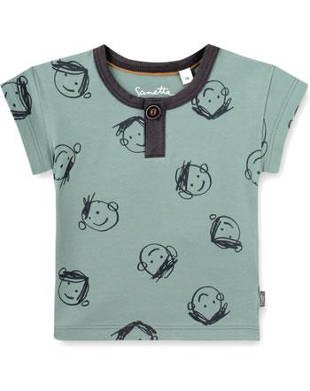 Sanetta Pure T-Shirt short sleeve blush thyme 10320-40024 GOTS