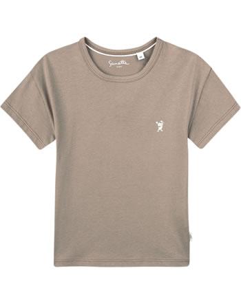 Sanetta Pure T-Shirt Kurzarm Monster pale brown 10200-18032 GOTS