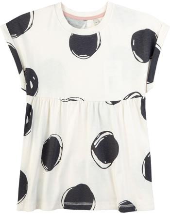 Sanetta Pure T-Shirt Kurzarm PUNKTE white whisper 10024-18010 GOTS