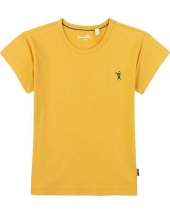Sanetta Pure T-Shirt Kurzarm UNI yellow 10078-2475 GOTS