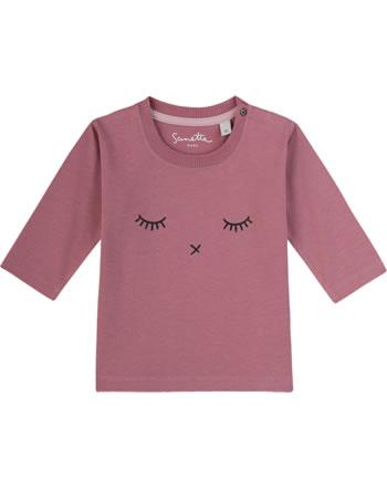 Sanetta Pure T-Shirt Langarm AUGE ash rose 10008-38093 GOTS