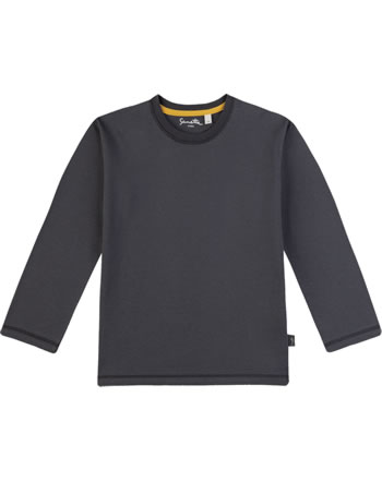 Sanetta Pure T-Shirt Langarm UNI seal grey 10079-1918 GOTS