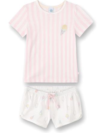 Sanetta Girls Pyjama short Sweet Summer pink 232633-38134