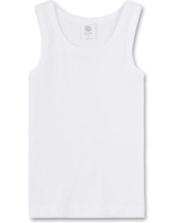 Sanetta Unterhemd ärmellos white 300000-10