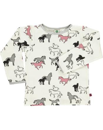 Smafolk Shirt manches longues HORSES cream 73-0029-199