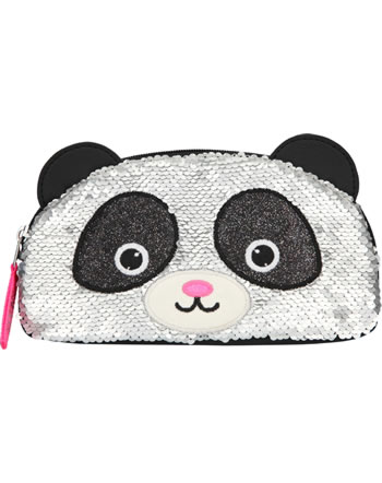 Snukis makeup bag Panda with sequins