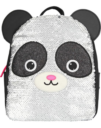 Snukis backpack Panda with sequins