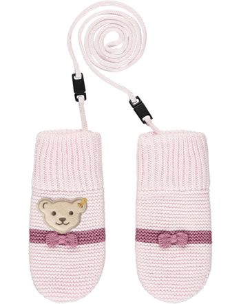 Steiff Baby Gloves FAIRYTALE barely pink 2023435-2560