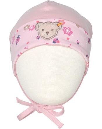 Steiff Baby-Mütze m.Bindeband BUGS LIFE Baby Girls almond blossom 2111421-3027
