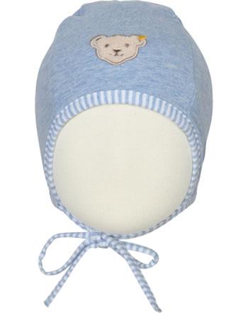 Steiff Baby-Mütze m.Bindeband HELLO SUMMER Baby Boys kentucky blue 2113317-6020