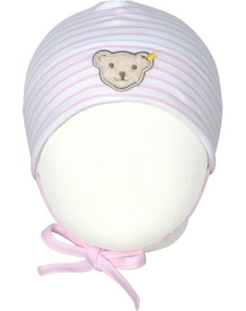 Steiff Baby-Mütze m.Bindeband HELLO SUMMER Baby Girls pink lady 2113421-3033