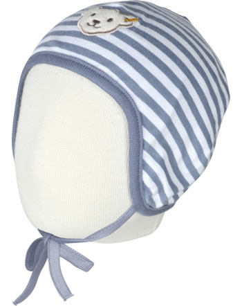 Steiff Bonnet RAINDROPS BABY ORGANIC zephyr stonewash 2022507-6059