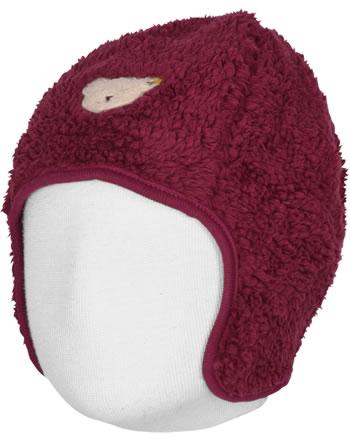 Steiff Bonnet ROSE DENIM beet red 1922217-4010