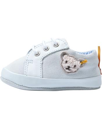 Steiff Baby-Sneaker mit Schnürung TRAMPILI bright white 0019102-1000