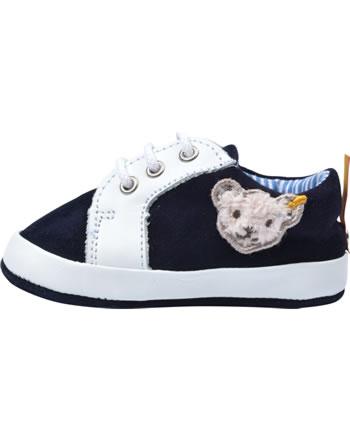 Steiff Baby-Sneaker mit Schnürung TRAMPILI steiff navy 0019102-3032