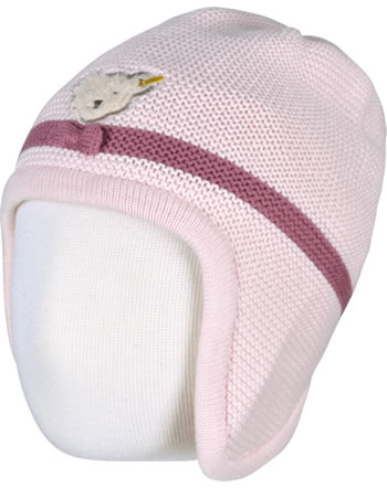 Steiff Baby-Strickmütze FAIRYTALE Baby Girls barely pink 2023431-2560