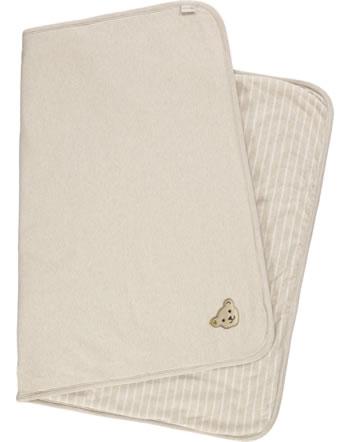 Steiff Blanket BEAR HUGS velour sandshell 2022614-1005