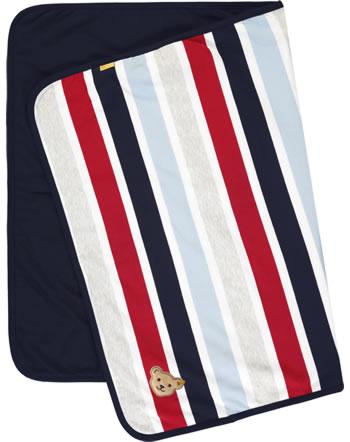 Steiff Blanket BEAR TO SCHOOL steiff navy 2021324-3032