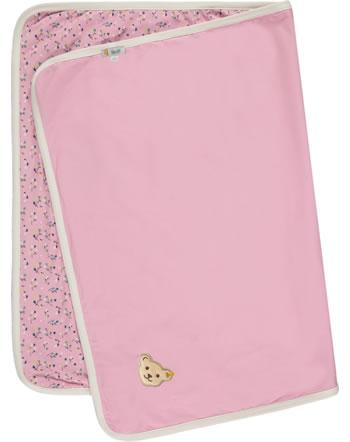 Steiff Babydecke Jersey SWEET HEART pink nectar 2121439-3035