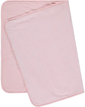 Steiff Babydecke Velour ORGANIC JUST DOTS silver pink 2122504-3015