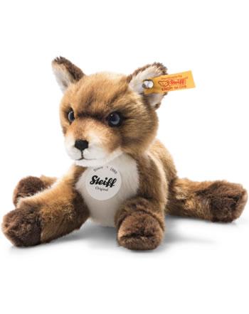 Steiff Babyfuchs Foxy 19 cm braun liegend 074035
