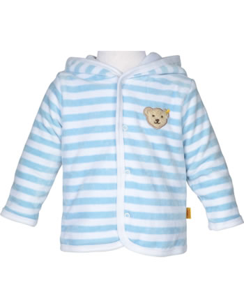 Steiff Baby jacket 1/1 Arm BASIC baby blue 0002857-2560