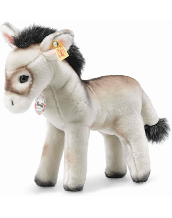 Steiff Back in Time Âne Eselie 25 cm gris debout 072987