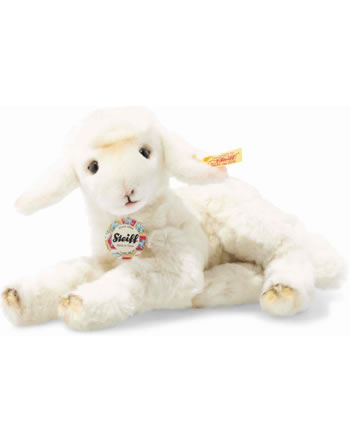 Steiff Back in Time Lamm Lämmlie 24 cm creme liegend 103339