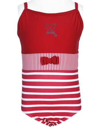 Steiff Swimsuit NAVY HEARTS tango red 2014601-4008