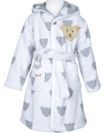 Steiff bathrobe BEARS BASIC bright white 000020309-1000